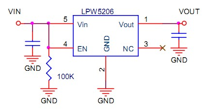 LPW5206's Typical Application Circuit