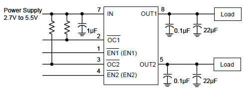 G556C2P1U's Typical Application Circuit