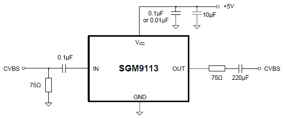 SGM9113's Typical Application Circuit