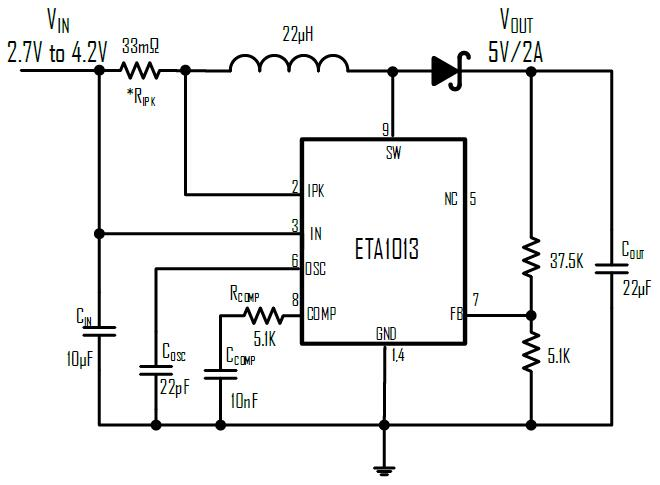 ETA1013E8A-T's Typical Application Circuit