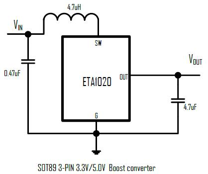 ETA1020's Typical Application Circuit