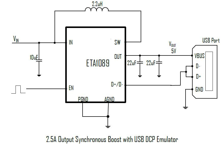 ETA1089D3M's Typical Application Circuit